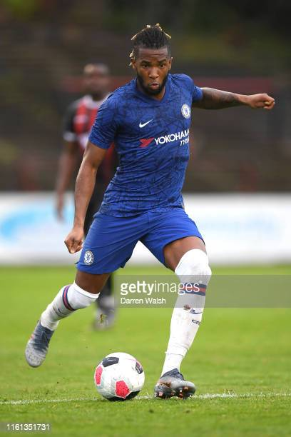 Kasey Palmer of Chelsea in action during the Pre-Season Friendly match between Bohemians FC and Chelsea FC at Dalymount Park on July 10, 2019 in...