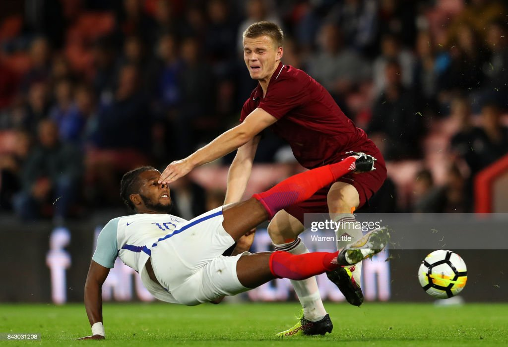 England v Latvia: UEFA Under 21 Championship Qualifiers