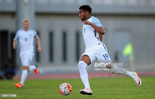 Kasey Palmer of England during the Toulon Tournament match between England and Portugal at Stadium Leo Lagrange on May 19 2016 in Toulon France