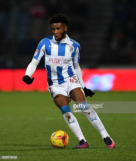 Kasey Palmer of Huddersfield during the Sky Bet Championship match between Huddersfield Town and Wigan Athletic at John Smith's Stadium on November...