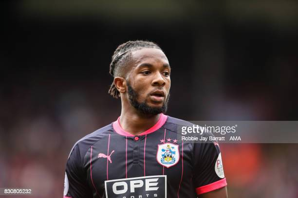 Kasey Palmer of Huddersfield Town during the Premier League match between Crystal Palace and Huddersfield Town at Selhurst Park on August 12 2017 in...