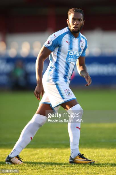Kasey Palmer of Huddersfield Town during the preseason friendly match between Accrington Stanley and Huddersfield Town at Wham Stadium on July 12...