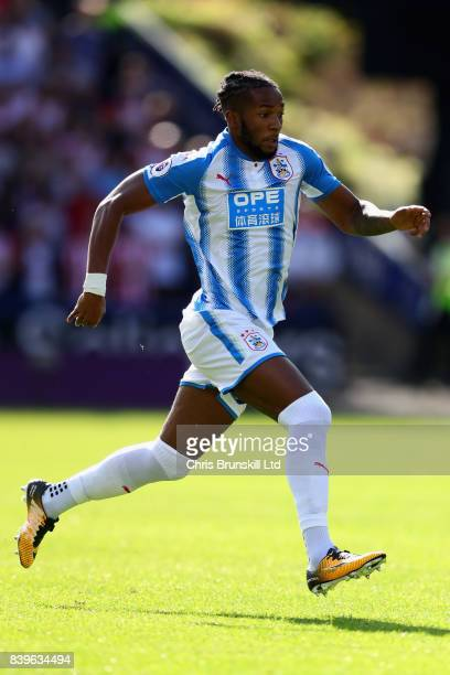 Kasey Palmer of Huddersfield Town in action during the Premier League match between Huddersfield Town and Southampton at John Smith's Stadium on...