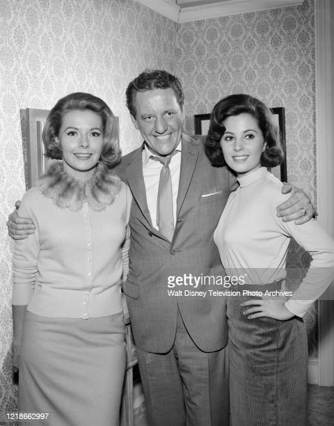 Kasey Rogers, Henry Beckman, Barbara Parkins appearing in the ABC tv series 'Peyton Place', episodes & #28.