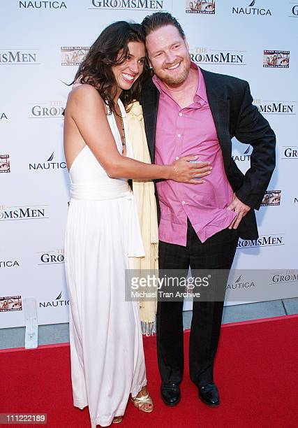 Kasey Walker and Donal Logue during 'The GroomsMen' Los Angeles Premiere Arrivals at ArcLight Cinemas in Hollywood CA United States