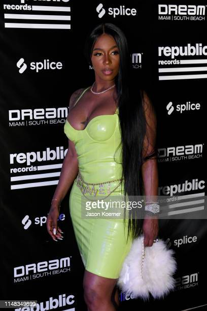 Kash Doll attends After Dark Swim Republic Records At Dream South Beach on May 10 2019 in Miami Florida