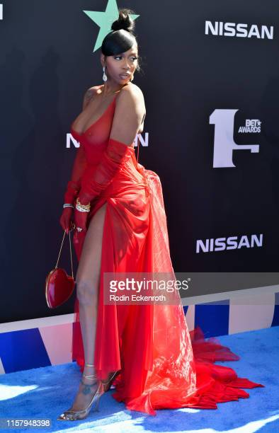 Kash Doll attends the 2019 BET Awards on June 23 2019 in Los Angeles California
