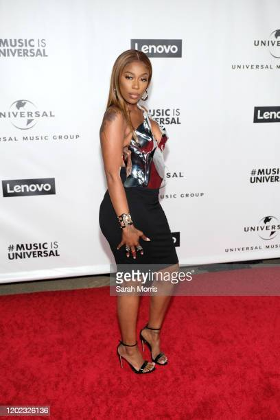 Kash Doll attends the 2020 Grammy after party hosted by Universal Music Group on January 26, 2020 in Los Angeles, California.