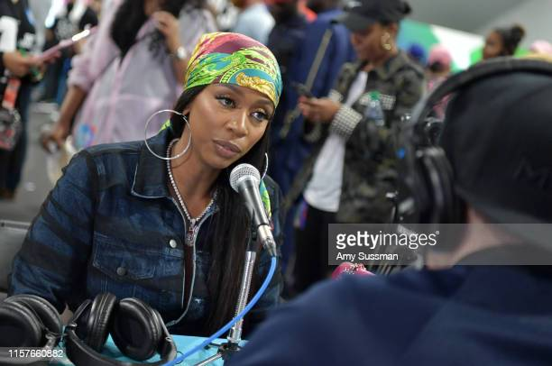 Kash Doll attends the BET Awards Radio Broadcast Center at Microsoft Theater on June 22 2019 in Los Angeles California