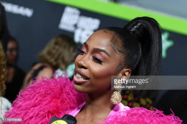 Kash Doll attends the BET Hip Hop Awards 2019 at Cobb Energy Center on October 05 2019 in Atlanta Georgia