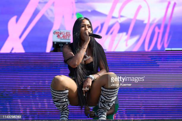 Kash Doll performs during day two of Rolling Loud at Hard Rock Stadium on May 11 2019 in Miami Gardens FL