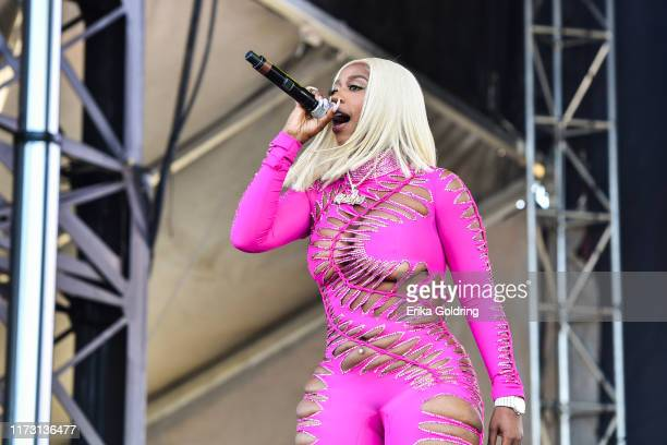 Kash Doll performs during Lil Weezyana 2019 at UNO Lakefront Arena on September 07 2019 in New Orleans Louisiana