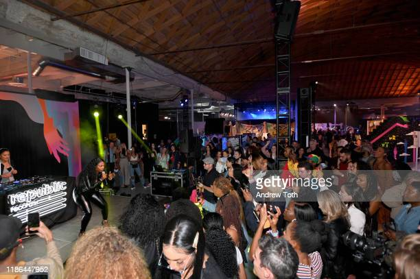 Kash Doll performs onstage at Refinery29's 29Rooms Los Angeles Expand Your Reality Experience 2019 on November 08 2019 in Los Angeles California