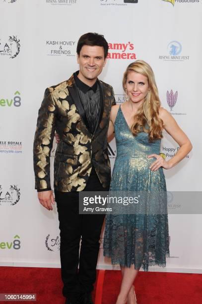Kash Hovey and Kathy Kolla attend Kash Hovey Friends Presented By Film Fest LA Big House LA at Regal Cinemas LA LIVE Stadium 14 on November 10 2018...