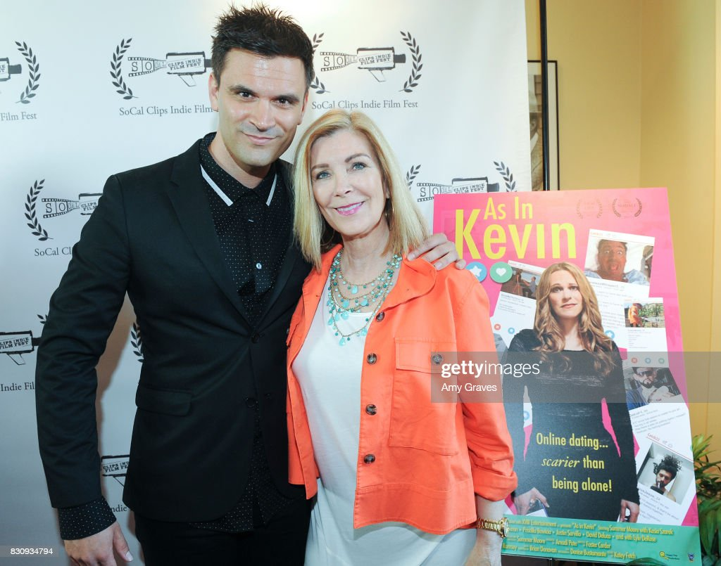 Kash Hovey and Michelle Beaulieu attend the Premiere Of 'As In Kevin' At Socal Clips Indie Film Fest on August 12, 2017 in Los Angeles, California.