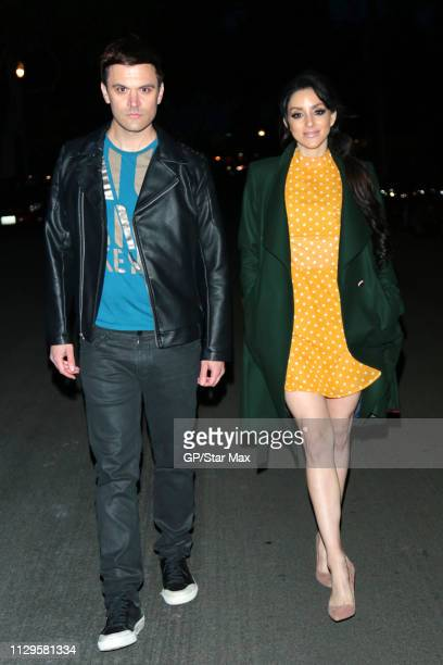 Kash Hovey and Rachele Royale are seen on March 9 2019 in Los Angeles