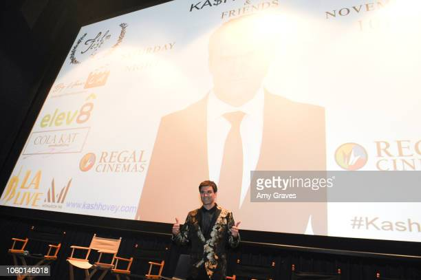 Kash Hovey attends Kash Hovey Friends Presented By Film Fest LA Big House LA at Regal Cinemas LA LIVE Stadium 14 on November 10 2018 in Los Angeles...