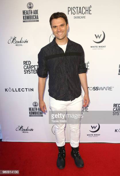 Kash Hovey attends Kollectin Fashion Jewelry popup night on June 21 2018 in Los Angeles California