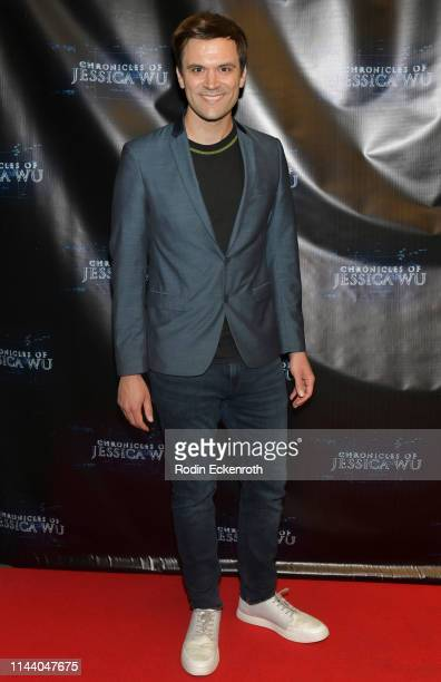 Kash Hovey attends the Chronicles of Jessica Wu Season 2 premiere at SAGAFTRA Foundation Screening Room on April 20 2019 in Los Angeles California