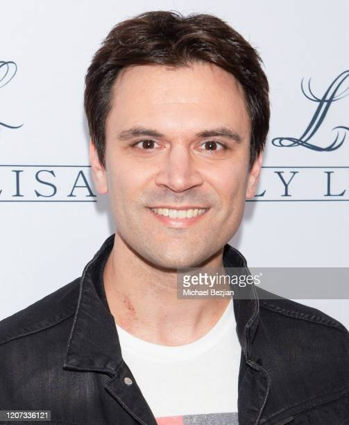 Kash Hovey attends the Grand Opening of Lily Lisa Collection on February 18, 2020 in BEVERLY HILLS, CALIFORNIA.