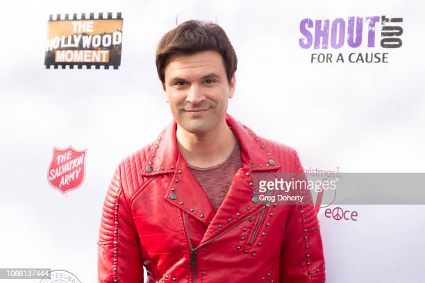 Kash Hovey attends The Salvation Army Celebrity Digital Kettle Kickoff Hollywood on November 27 2018 in Los Angeles California