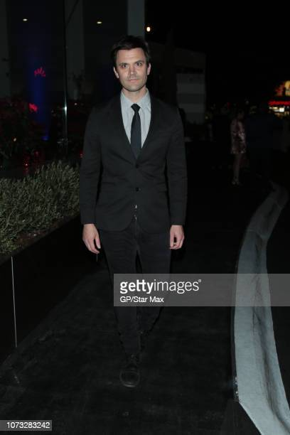 Kash Hovey is seen on December 13 2018 in Los Angeles CA