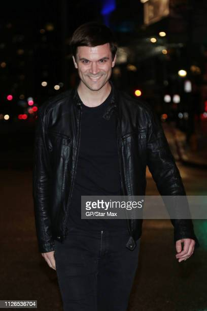 Kash Hovey is seen on February 20 2019 in Los Angeles