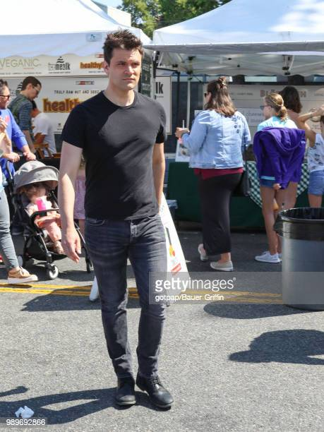 Kash Hovey is seen on July 01 2018 in Los Angeles California