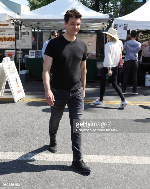 Kash Hovey is seen on July 1 2018 in Los Angeles California