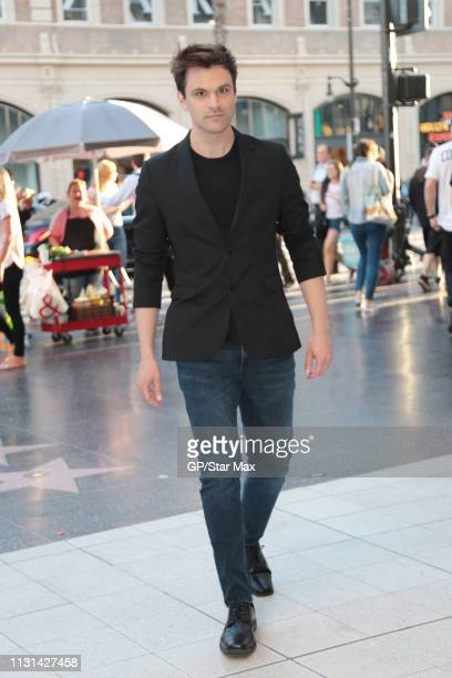 Kash Hovey is seen on March 17 2019 in Los Angeles