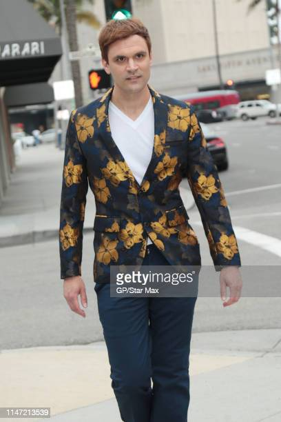 Kash Hovey is seen on May 31 2019 in Los Angeles