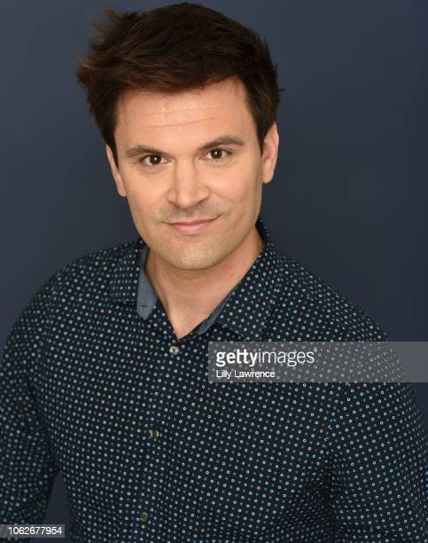Kash Hovey poses for a portrait #kashhovey #theartistsprojectla at Giveback Day At The Artists Project on November 15 2018 in Los Angeles California