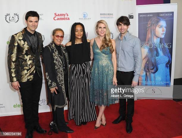 Kash Hovey Shari Belafonte Isabella Clark Kathy Kolla and Drew Milford at the Film Fest LA At LA Live Kash Hovey Friends held at Regal Cinemas LA...