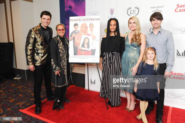 Kash Hovey Shari Belafonte Isabella Clark Kathy Kolla and Drew Milford attend Kash Hovey Friends Presented By Film Fest LA Big House LA at Regal...