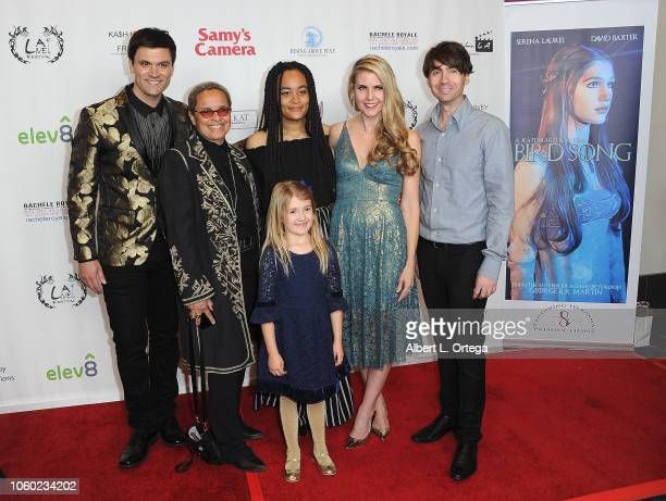 Kash Hovey Shari Belafonte Isabella Clark Kathy Kolla Drew Milford and Claire Milford at the Film Fest LA At LA Live Kash Hovey Friends held at Regal...