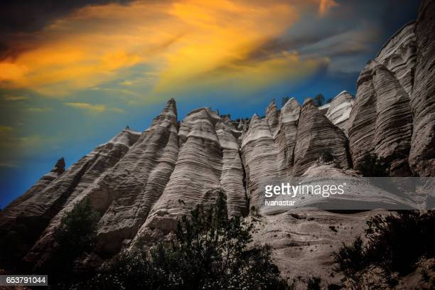 Kasha Katuwe Tent Rocks National Monument in New Mexico