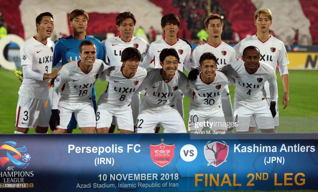 Persepolis v Kashima Antlers - AFC Champions League Final 2nd Leg : News Photo