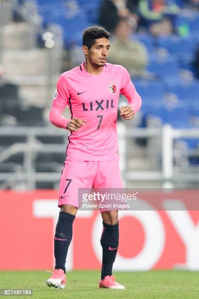 Kashima Forward Pedro Junior in action during the AFC Champions League 2017 Group E match between Ulsan Hyundai FC vs Kashima Antlers at the Ulsan...