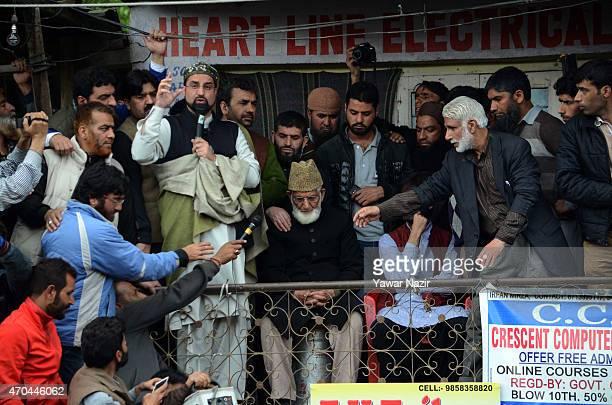 Kashmir chief priest and chairman of the All Parties Hurriyat Freedom Conference , Mirwaiz Umar Farooq , Syed Ali Shah Geelani, a separatist leader...