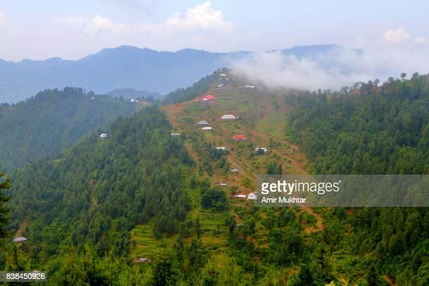 kashmir landscape - kashmir valley stock photos and pictures