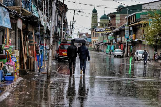 IND: Rainy Weather In Jammu And Kashmir