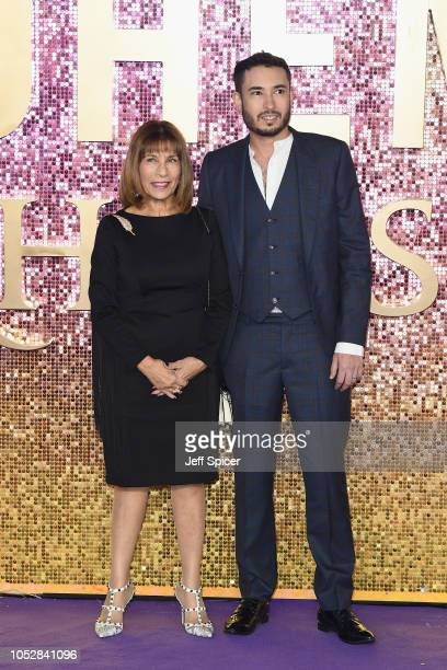 Kashmira Bulsara and Jamal Zook attend the World Premiere of 'Bohemian Rhapsody' at SSE Arena Wembley on October 23 2018 in London England