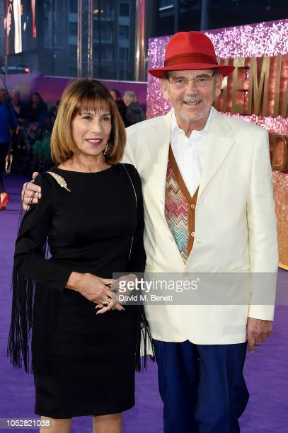 "Kashmira Bulsara and Jim Beach attend the World Premiere of ""Bohemian Rhapsody"" at The SSE Arena, Wembley, on October 23, 2018 in London, England."