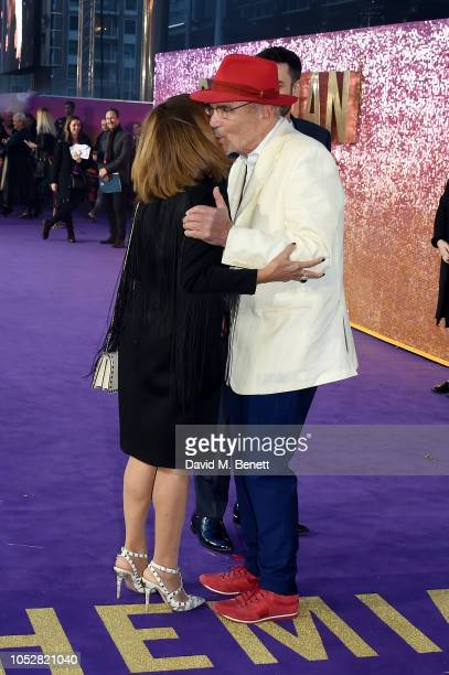 Kashmira Bulsara and Jim Beach attend the World Premiere of Bohemian Rhapsody at The SSE Arena Wembley on October 23 2018 in London England