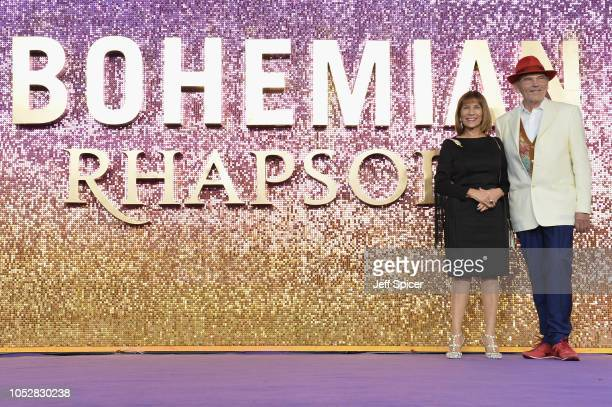 Kashmira Bulsara and Jim Beach attend the World Premiere of 'Bohemian Rhapsody' at SSE Arena Wembley on October 23, 2018 in London, England.