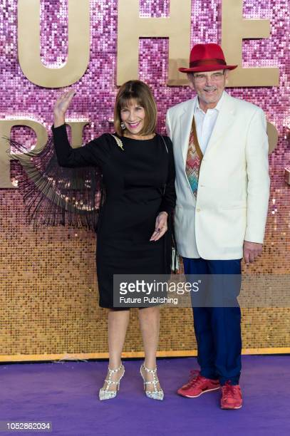 Kashmira Bulsara and Jim Beach attend the World Premiere of 'Bohemian Rhapsody' at the SSE Arena Wembley in London. October 23, 2018 in London,...