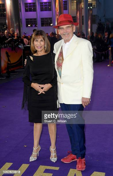 Kashmira Cooke and Jim Beach attend the World Premiere of 'Bohemian Rhapsody' at SSE Arena Wembley on October 23 2018 in London England