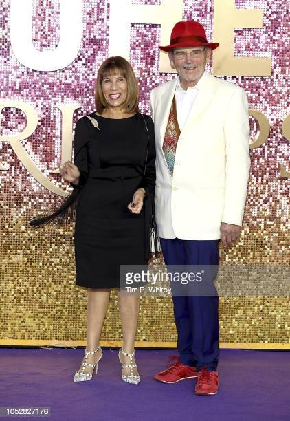 Kashmira Cooke and Jim Beach attend the World Premiere of 'Bohemian Rhapsody' at The SSE Arena Wembley on October 23 2018 in London England