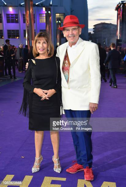 Kashmira Cooke and Jim Beach attending the Bohemian Rhapsody World Premiere held at the the SSE Arena Wembley London
