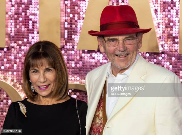 Kashmira Cooke and Mike Reid attends the World Premiere of 'Bohemian Rhapsody' at SSE Arena Wembley